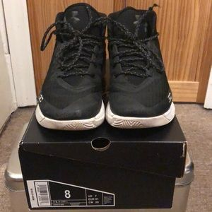 UA Curry 3 Sneakers Black size 8